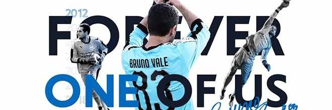 Bruno Vale despede-se do Apollon FC após sete anos e clube retira o número do guarda-redes