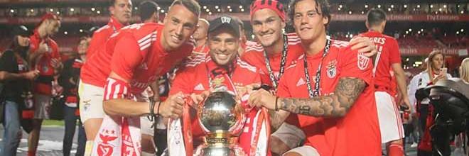 Fernando Ferreira: da promoção a campeão pelo SL Benfica após oito zeros na baliza