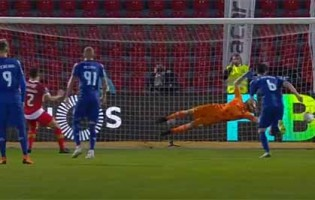 Pedro Trigueira comete e defende penalti de forma espetacular – CD Aves 0-1 Moreirense FC