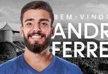 André Ferreira rescinde com SL Benfica e assina pelo CD Santa Clara