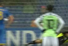 Andriy Lunin defende grande penalidade – Ucrânia 1-1 Nigéria (Mundial sub-20)