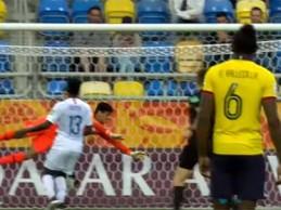 Moisés Ramírez e David Ochoa aparecem em defesas dificultadas – Equador 2-1 Estados Unidos (Mundial sub-20)