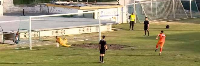 Rafael Marques defende dois penaltis e leva Casa Pia às meias-finais do Campeonato de Portugal