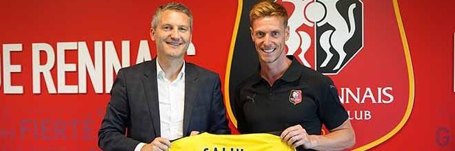Romain Salin assina pelo Rennes após rescindir com o Sporting CP