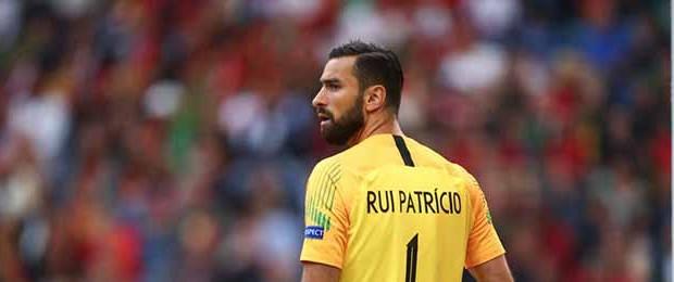 Rui Patrício iguala Vítor Baía com 80 internacionalizações e como guarda-redes mais internacional por Portugal