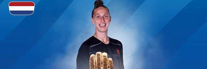 Sari van Veenendaal eleita a Luva de Ouro do Mundial'2019