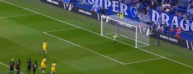 Benjamin Lecomte defende penalti e evita outros golos – FC Porto 0-1 AS Monaco (Amigável)