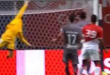 Eduardo Carvalho fecha a baliza em voo vistoso – SC Braga 0-0 AS Monaco (Amigável)