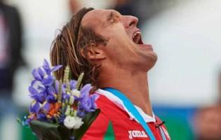 Elinton Andrade marca golo e defende várias vezes para ganhar medalha de Ouro nos Jogos Europeus de Portugal