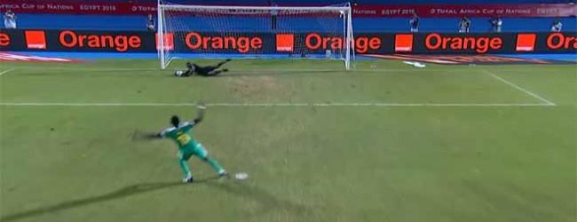 Patrick Matasi defende grande penalidade – Senegal 3-0 Quénia (CAN)