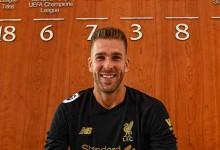 Adrián San Miguel assina pelo Liverpool FC