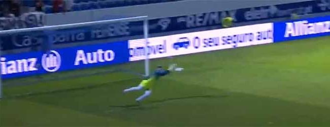 Caio Secco evita segundo golo em desvio – CD Feirense 0-1 Vitória SC (Taça da Liga)