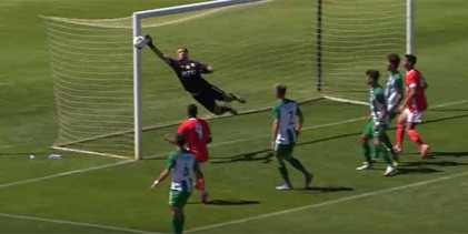 Carlos Alves fecha baliza em defesa vistosa – Rio Ave sub-23 1-0 SL Benfica sub-23