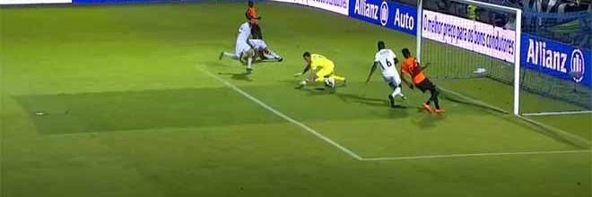 Douglas Jesus impede auto-golo em defesa inusitada – CD Feirense 0-1 Vitória SC (Taça da Liga)