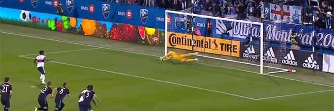 Evan Bush defende penalti, VAR manda repetir e volta a defender – Montreal 2-1 Vancouver