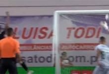 Giorgi Makaridze resvala perigo para trancar a baliza – Vitória FC 0-0 Moreirense FC