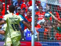 Óscar Jiménez abre jogo a dar espetáculo em duas defesas – Toluca 0-1 Club América