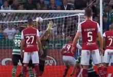 Renan Ribeiro protagoniza defesas de último grito antes de sofrer – Sporting CP 2-1 SC Braga