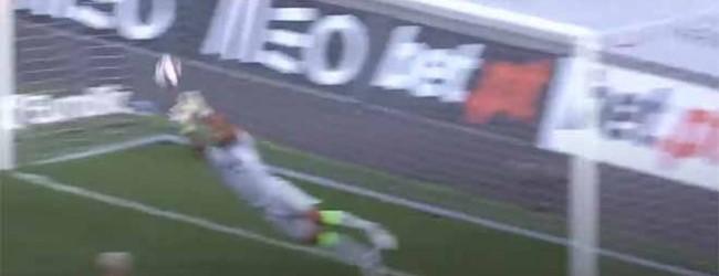Renan Ribeiro voa para estirada a tirar golo de efeito – CS Marítimo 1-1 Sporting CP