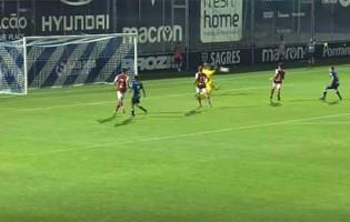Rogério Santos dá espetáculo de defesas e até intervém com a cara – FC Famalicão sub-23 0-0 SC Braga sub-23