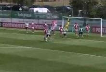 Rogério Santos faz sequência de defesas vistosas – Sporting CP sub-23 1-0 SC Braga sub-23