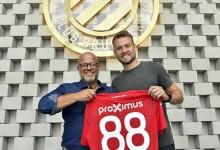 Simon Mignolet assina pelo Club Brugge