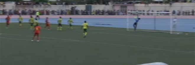 Aldair D'Almeida destaca-se em várias intervenções – São Tomé e Príncipe 0-1 Guiné Bissau