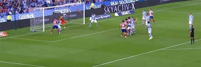 Miguel Ángel Moyá evita golos e Jan Oblak defende e lesiona-se em erro com golo sofrido – Real Sociedad 2-0 Atlético de Madrid