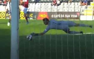 Ricardo Ferreira intervém com desvio de qualidade – Portimonense SC 0-1 SC Braga