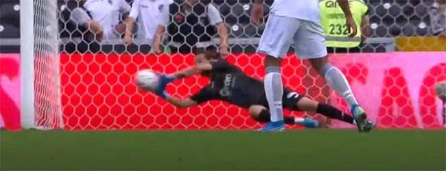 Ricardo Ribeiro destaca-se em desvio complicado – Vitória SC 1-0 FC Paços de Ferreira
