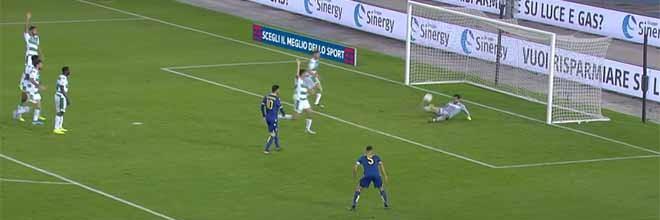 Marco Silvestri e Andrea Consigli em diferentes e diversas defesas – Hellas Verona FC 0-1 US Sassuolo