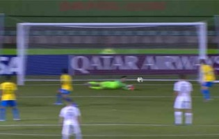 Matheus Donelli tranca a baliza em defesa destacável – Brasil 3-0 Nova Zelândia (Mundial sub-17)
