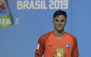 Matheus Donelli é o Luva de Ouro do Mundial sub-17 na conquista do Brasil