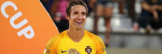 Elinton Andrade eleito o Melhor Guarda-Redes do Mundial após conquista com Portugal