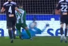 Jair Mosquera defende grande penalidade e assina defesa espetacular – AC Marinhense 0-2 Rio Ave FC