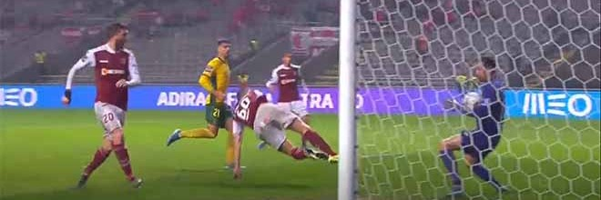 Ricardo Ribeiro tranca a baliza em quatro intervenções – SC Braga 0-1 FC Paços de Ferreira