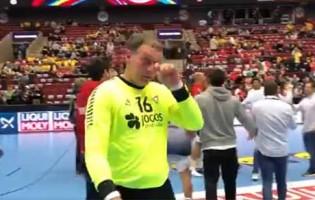 Humberto Gomes faz defesa espetacular e termina jogo em lágrimas – Portugal 34-26 Hungria (Euro 2020)