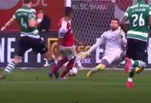 Luís Maximiano aparece em três defesas – SC Braga 1-0 Sporting CP
