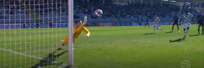 Marco Rocha faz defesa no último grito – Moreirense FC 2-1 CD Santa Clara