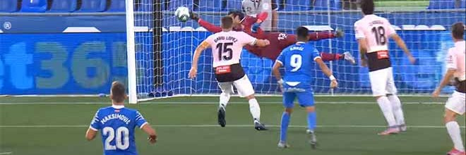 Diego López faz defesa espetacular e com resposta a recarga – Getafe CF 0-0 RCD Espanyol