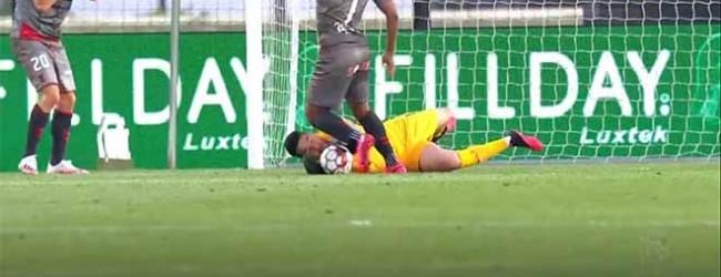 Marco Rocha impede terceiro golo após intervenção incompleta – CD Santa Clara 3-2 SC Braga