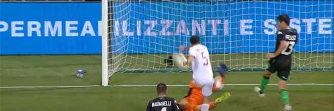 Andrea Consigli faz tripla-defesa em espetáculo de ineficácia e coragem – Sassuolo 1-2 AC Milan