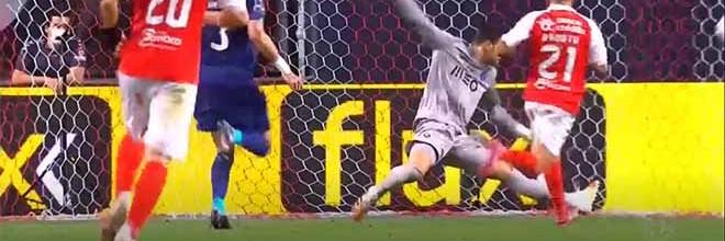 Diogo Costa destaca-se em três intervenções – SC Braga 2-1 FC Porto
