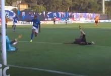Hervé Koffi defende em diversas ocasiões – Os Belenenses 0-1 Moreirense FC