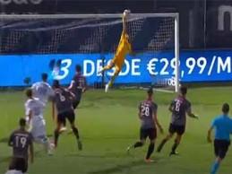 Odisseas Vlachodimos estira-se para defesa vistosa – FC Famalicão 1-1 SL Benfica
