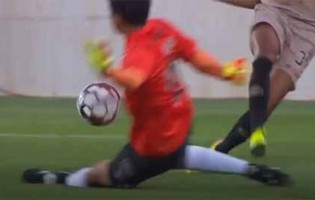 Shuichi Gonda impede golo no um-para-um – Portimonense SC 2-1 Boavista FC