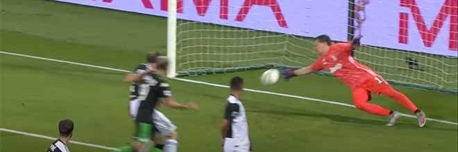 Wojciech Szczesny faz defesas espetaculares entre golos sofridos – Sassuolo 3-3 Juventus FC