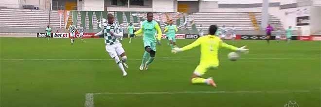 Amir Abedzadeh erra e precipita-se várias vezes entre defesas – Moreirense FC 2-1 CS Marítimo