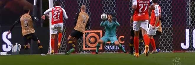 Marco Rocha impede golos em várias ocasiões – SC Braga 0-1 CD Santa Clara