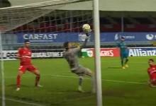 Serginho Silva faz defesa espetacular entre várias intervenções – CD Trofense 1-2 SC Braga